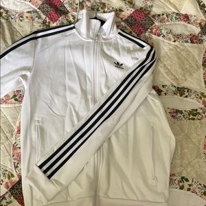 Small Adidas zip up athletic sweater